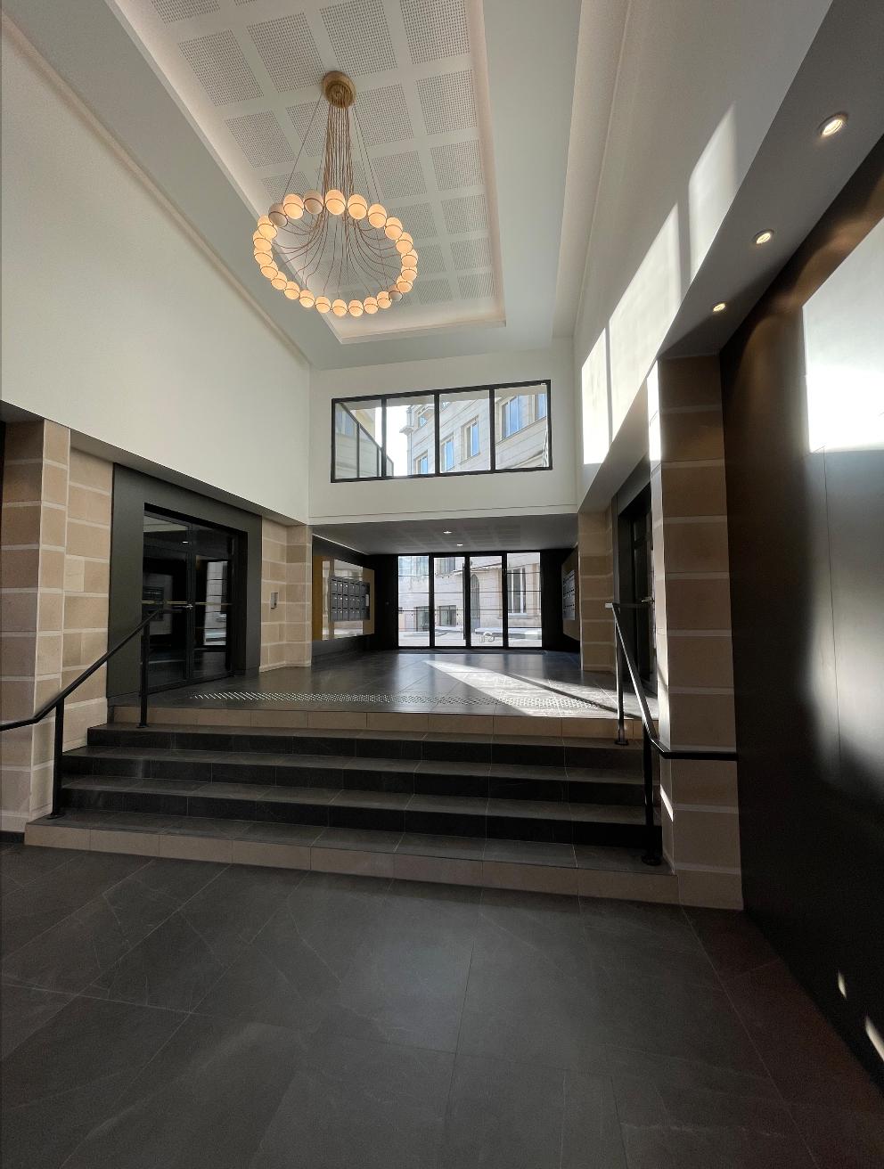hall d'entrée hotel marivaux